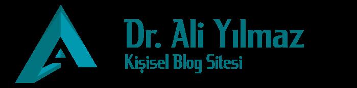 Dr. Ali Yılmaz – Kişisel Blog